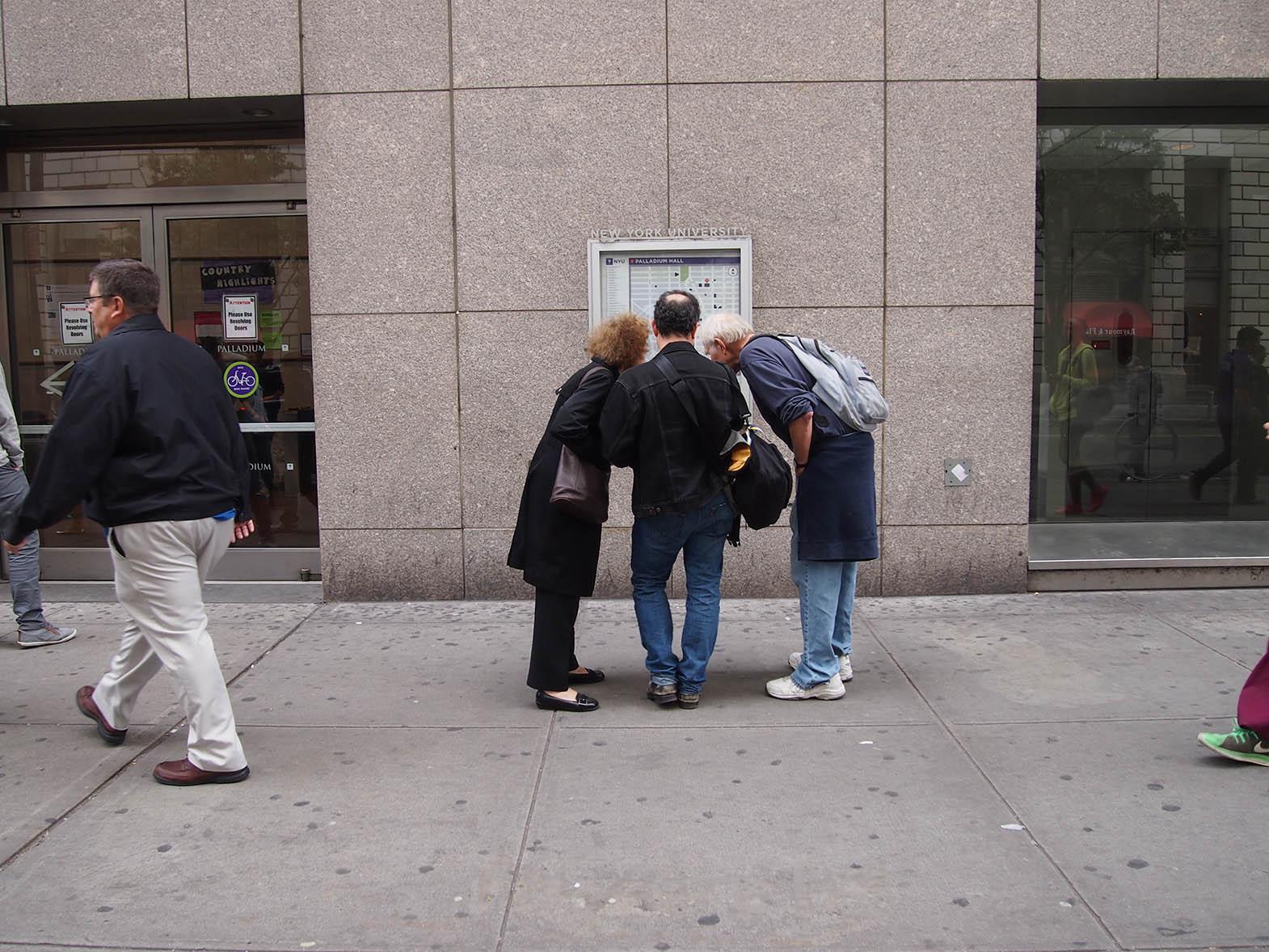 Outside 140 E 14th St