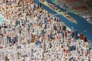 Panorama of the City of New York, Queens Museum, 2013. Photo: Scott Rudd. Courtesy Queens Museum